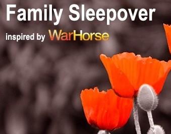War horse sleepover Birmingham Hippodrome