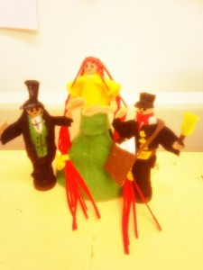 Heritedge peg dolls